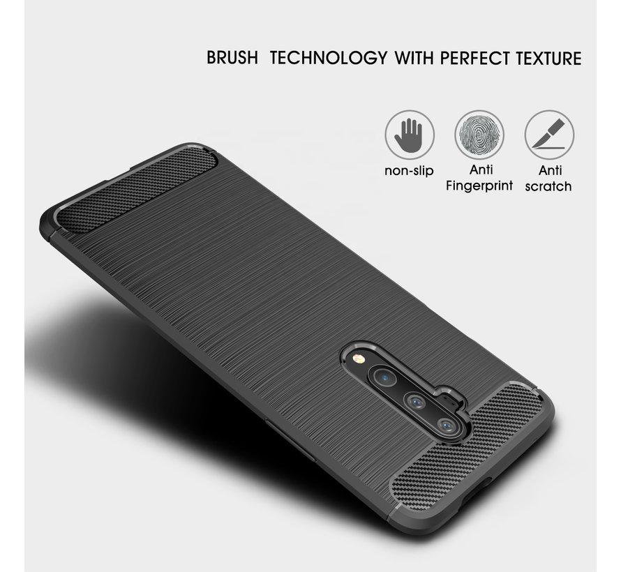 OnePlus 7T Pro Case Brushed Carbon Black