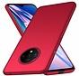 OnePlus 7T Hülle Ultra Slim Grip Rot