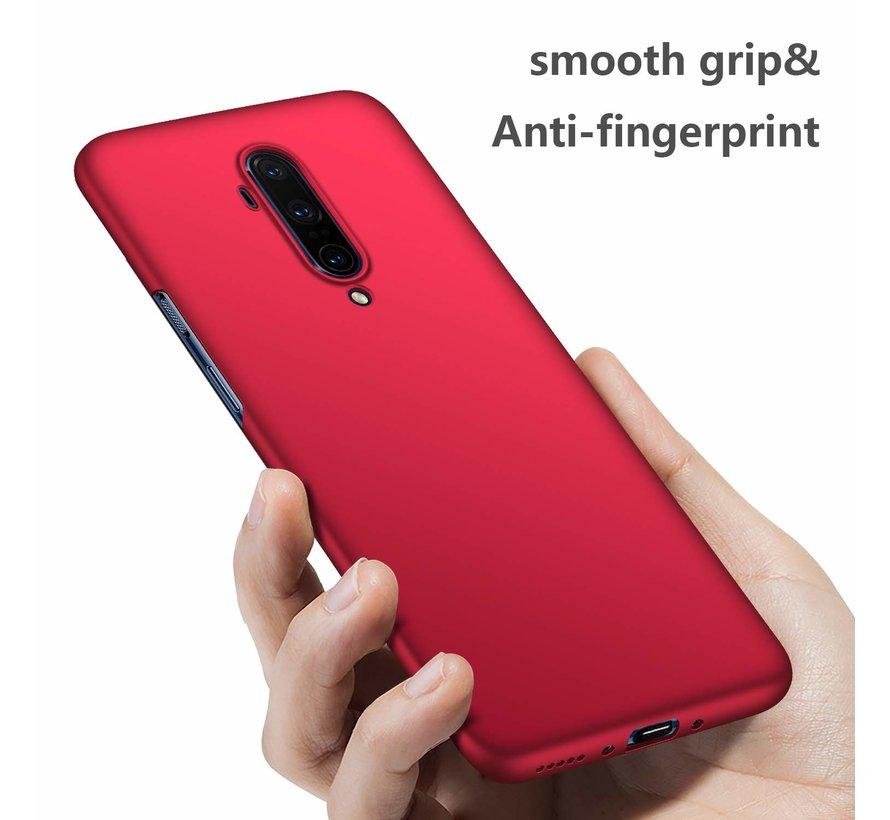 OnePlus 7T Pro Hoesje Ultra Slim Grip Rood