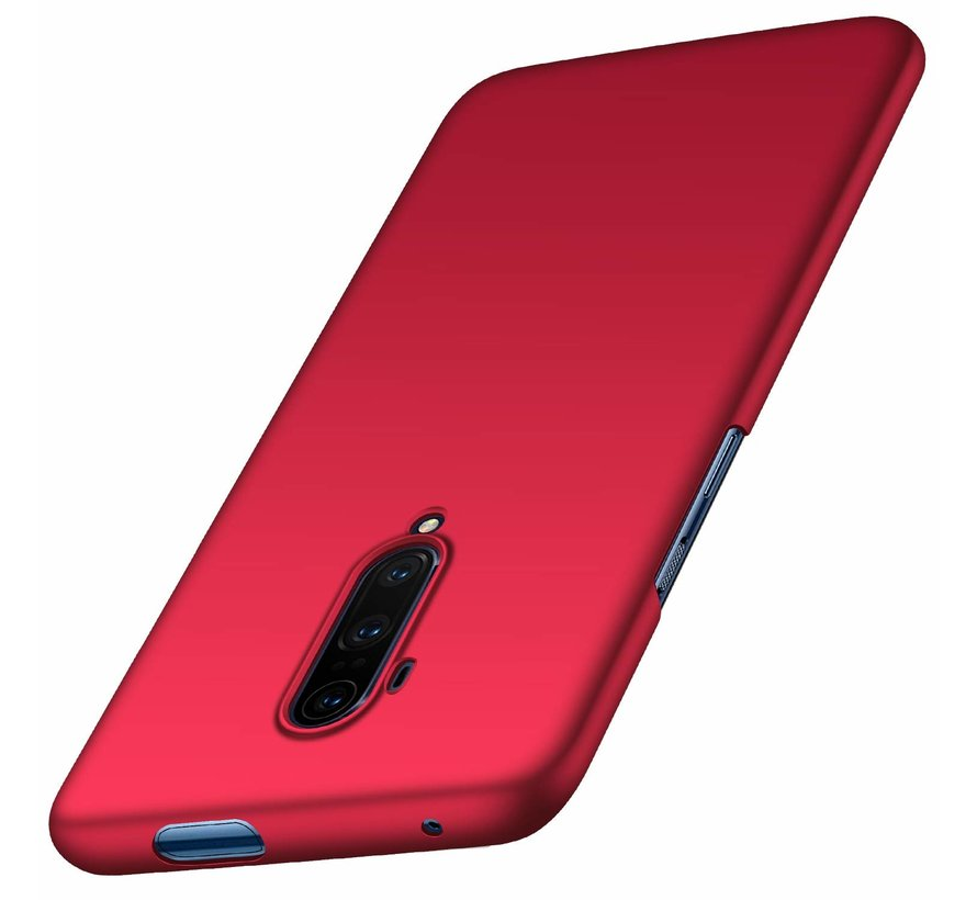 OnePlus 7T Pro Hülle Ultra Slim Grip Rot