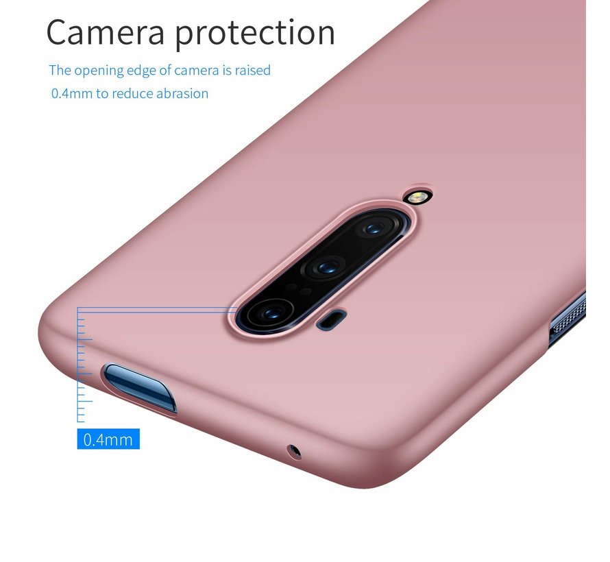 OnePlus 7T Pro Hülle Ultra Slim Grip Rosa