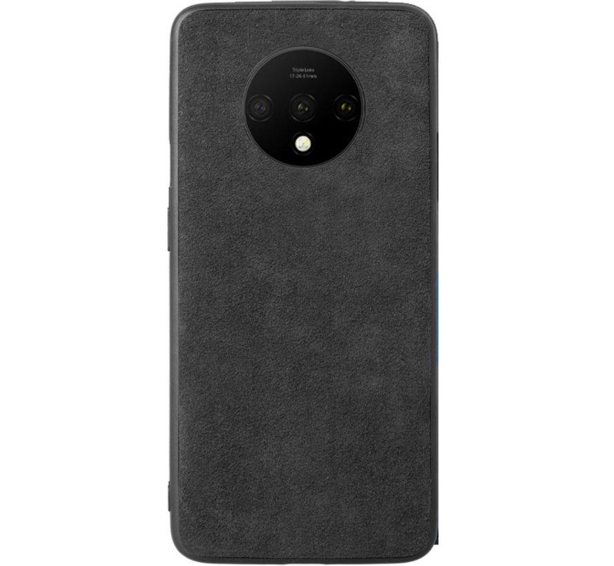 OnePlus 7T Hoesje Premium Alcantara