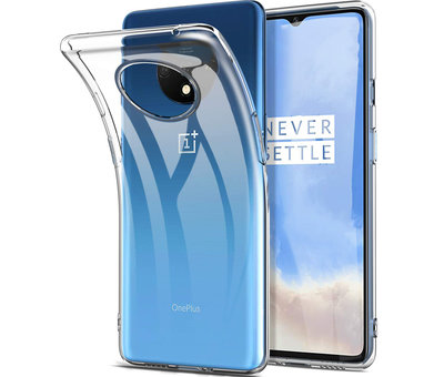 OPPRO OnePlus 7T Hoesje TPU Transparant