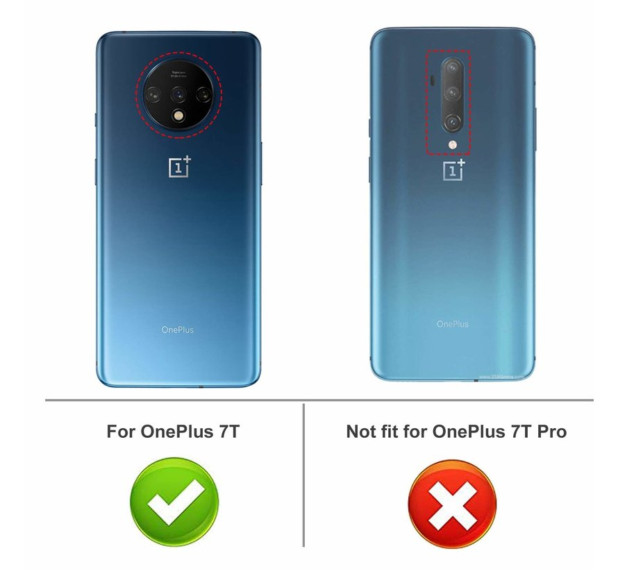 OnePlus 7T Hoesje TPU Transparant