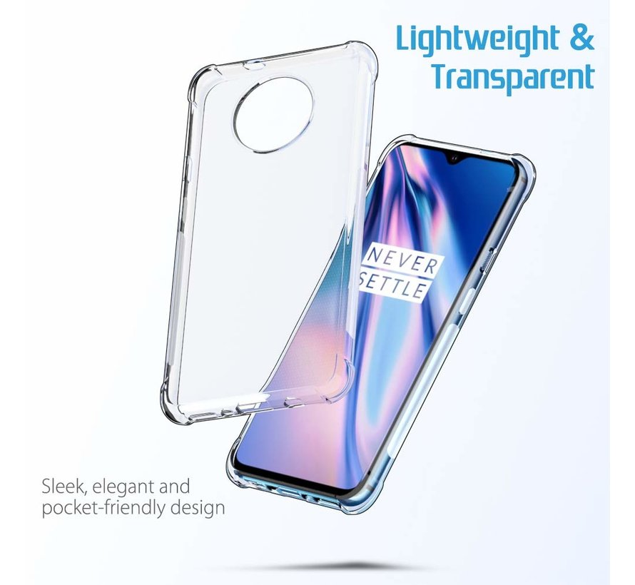 OnePlus 7T Case TPU Shock Proof Transparent