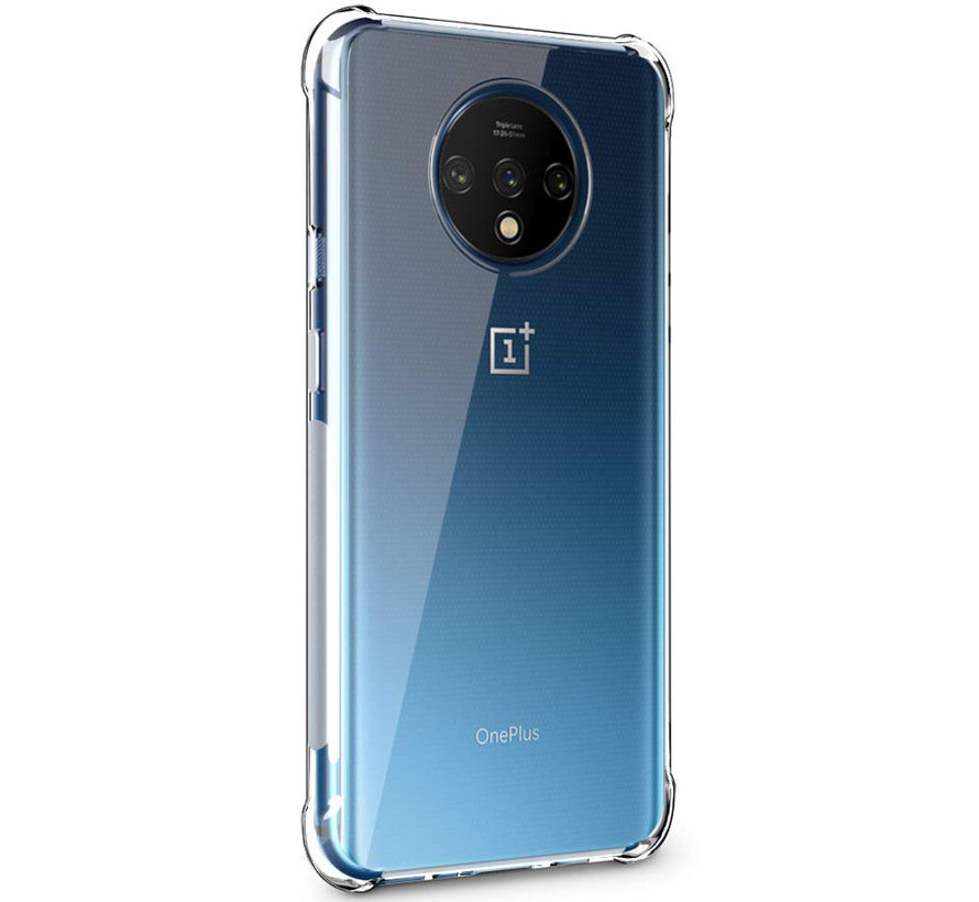 OnePlus 7T Hoesje TPU Shock Proof Transparant