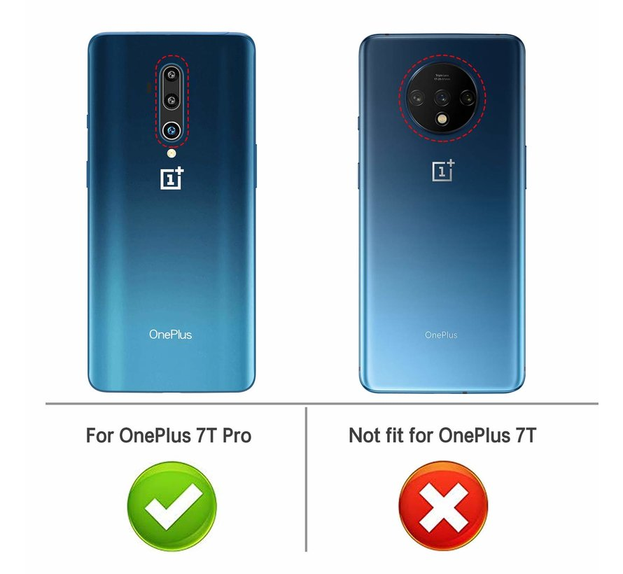 OnePlus 7T Pro Hoesje TPU Transparant