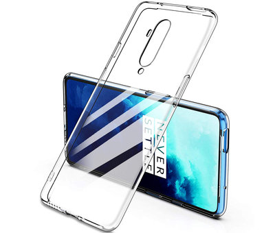 OPPRO OnePlus 7T Pro Hoesje TPU Transparant