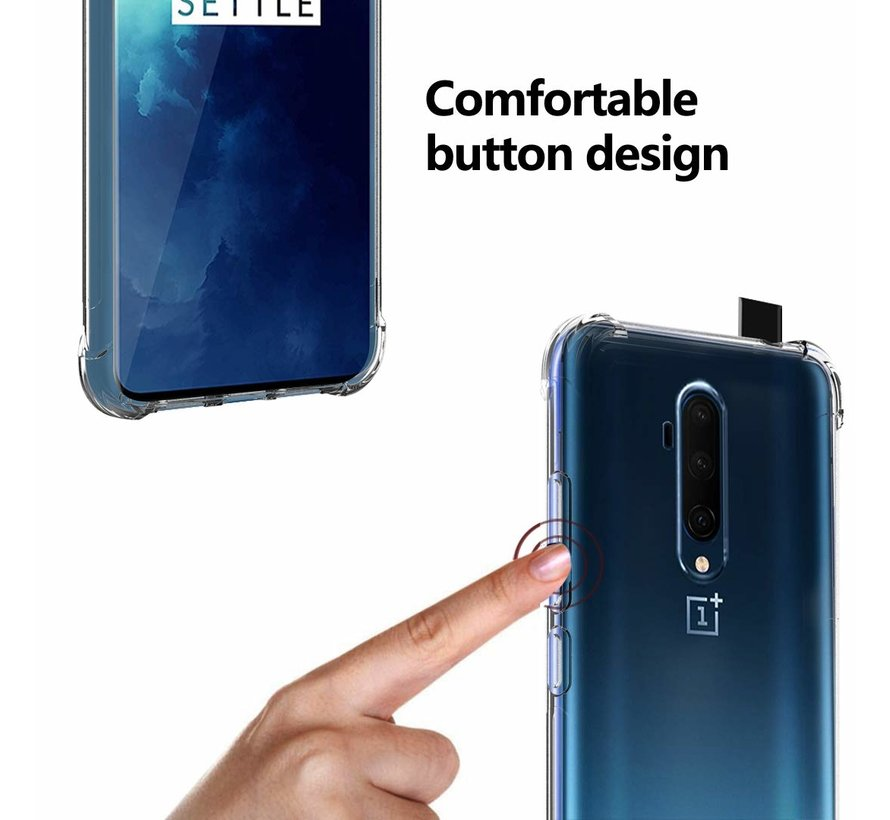 OnePlus 7T Pro Case TPU Shock Proof Transparent