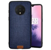 Noziroh OnePlus 7T Case Fabric Blue