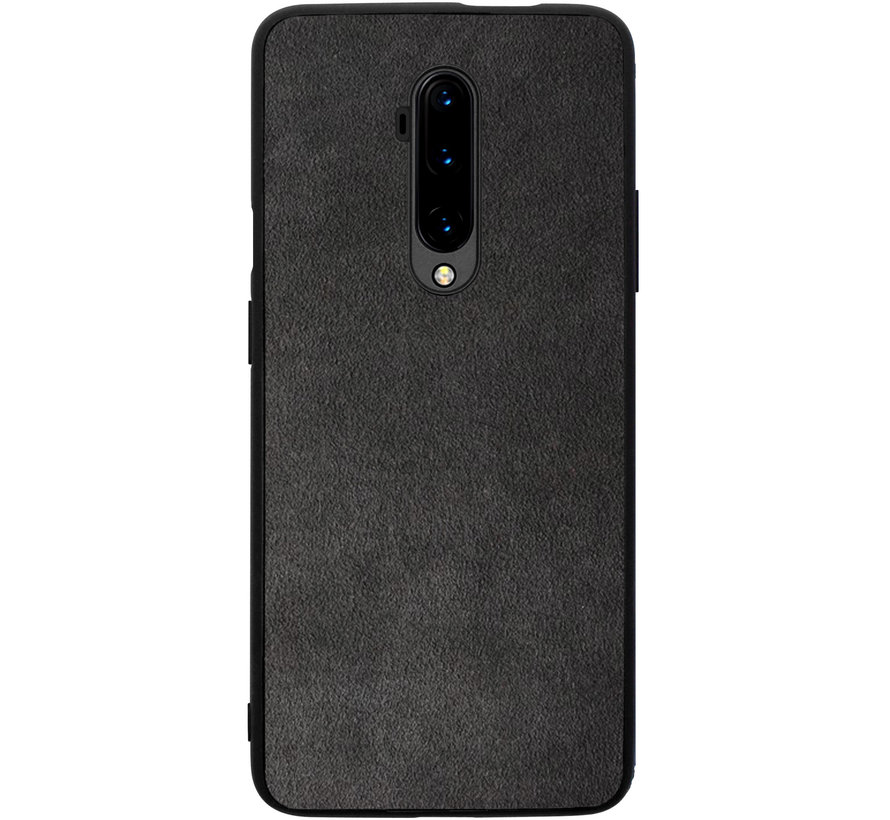 OnePlus 7T Pro Hoesje Premium Alcantara