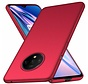 OnePlus 7T Hoesje Ultra Slim Grip Texture Rood