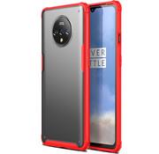 OPPRO OnePlus 7T Merge Bumper Hoesje Rood