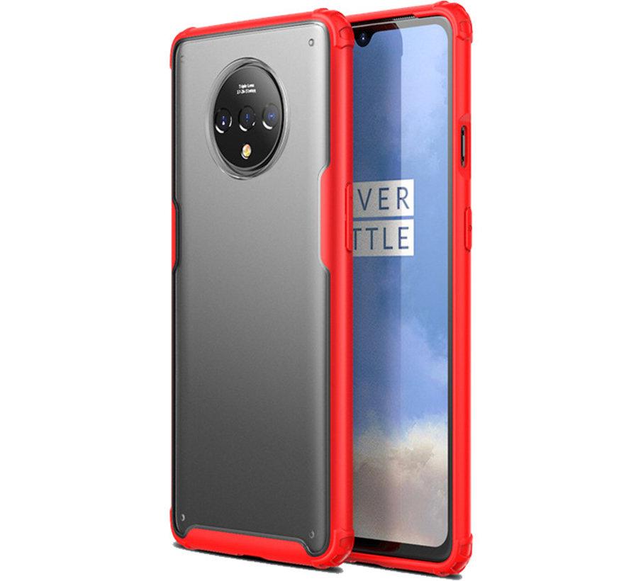 OnePlus 7T Merge Bumper Hoesje Rood