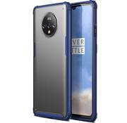 OPPRO OnePlus 7T Merge Bumper Hoesje Blauw