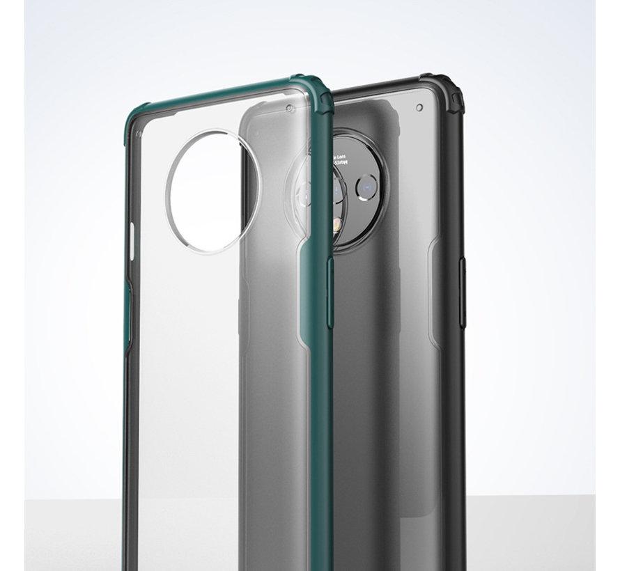 OnePlus 7T Merge Bumper Hoesje Blauw