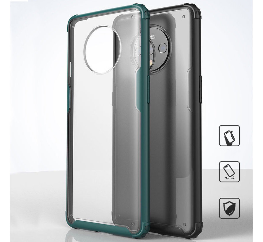 OnePlus 7T Merge Bumper Case Green