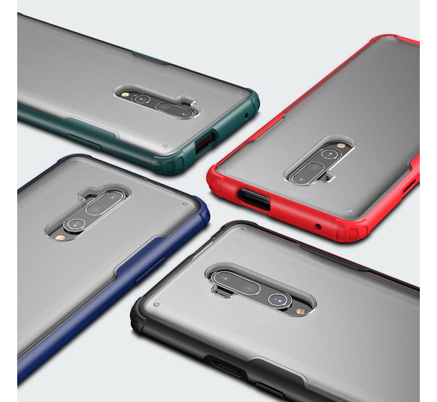 OnePlus 7T Pro Merge Bumper Hoesje Rood