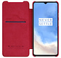 OnePlus 7T Flip Case Qin Rood