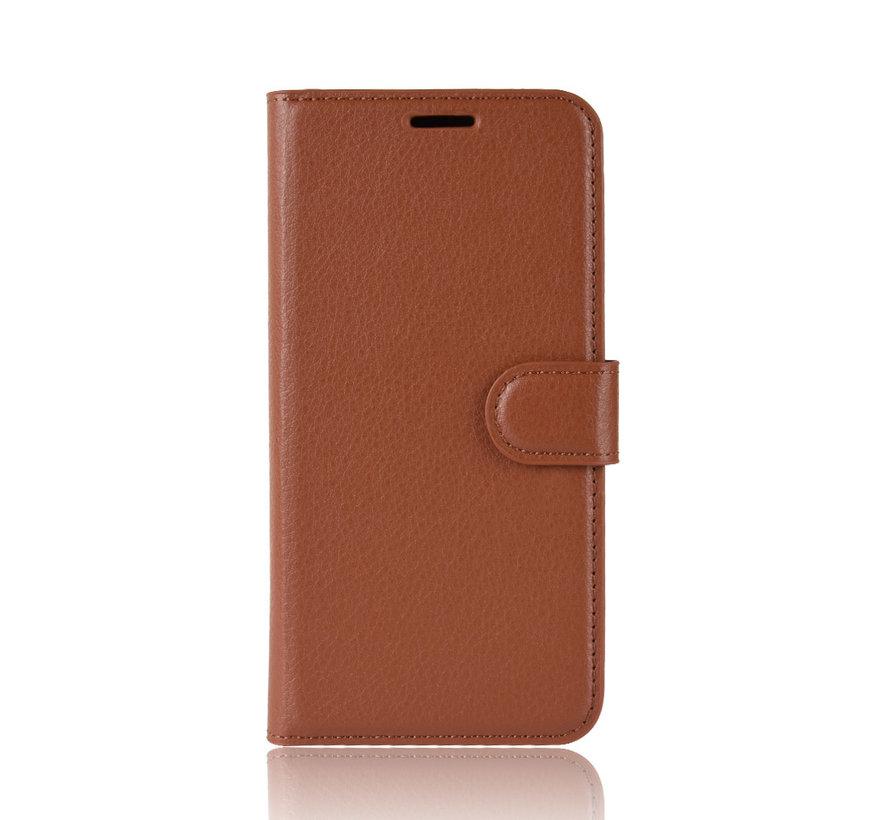 OnePlus 7T Wallet Flip Case Braun