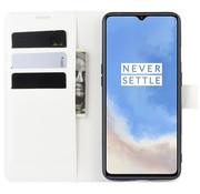 OPPRO OnePlus 7T Wallet Flip Case Weiß