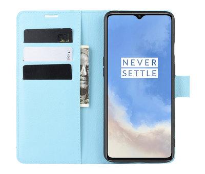 OPPRO OnePlus 7T Wallet Flip Case Blau