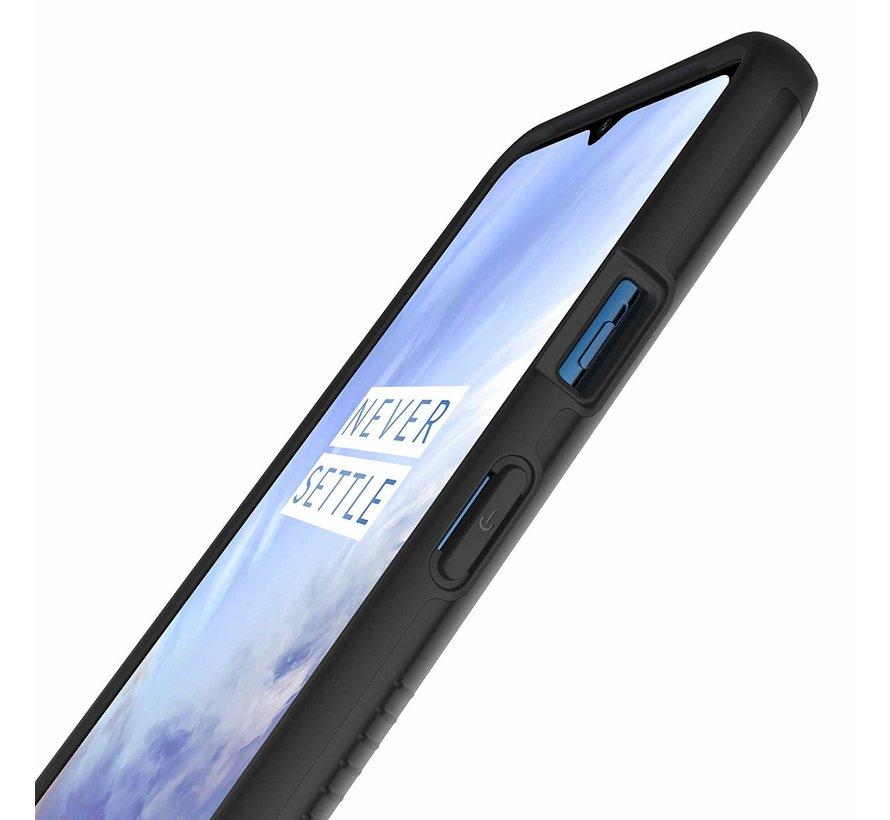 OnePlus 7T Hoesje Merge Zwart