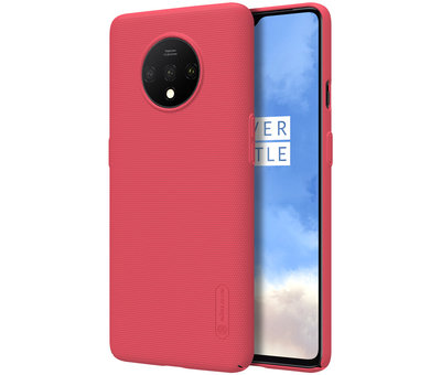 Nillkin OnePlus 7T Hülle Super Frosted Shield Rot