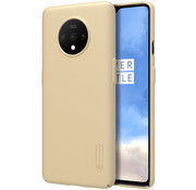 Nillkin OnePlus 7T Case Super Frosted Shield Gold