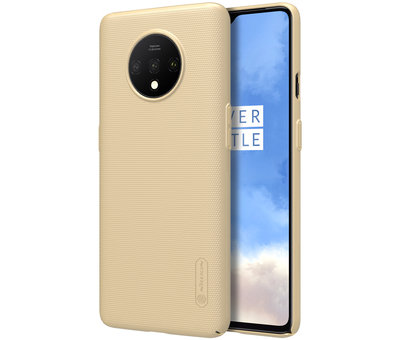 Nillkin OnePlus 7T Hülle Super Frosted Shield Gold