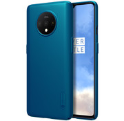 Nillkin OnePlus 7T Hülle Super Frosted Shield Peacock Blue