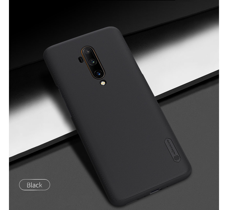 OnePlus 7T Pro Hülle Super Frosted Shield Schwarz