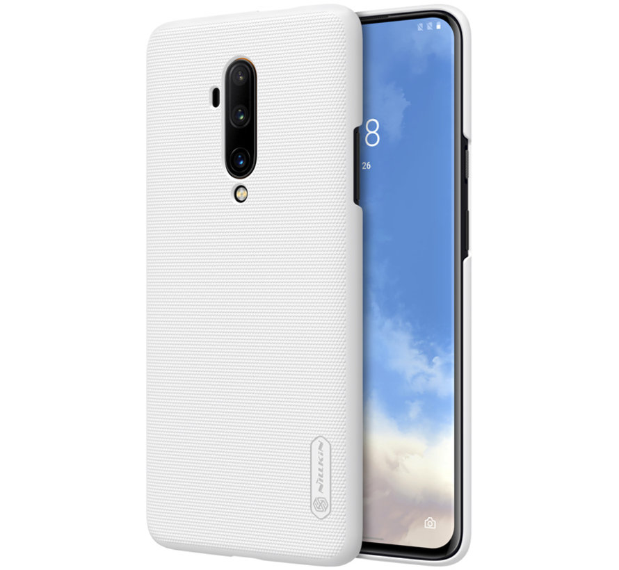 OnePlus 7T Pro Hülle Super Frosted Shield Weiß