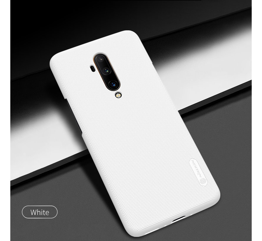 OnePlus 7T Pro Hoesje Super Frosted Shield Wit