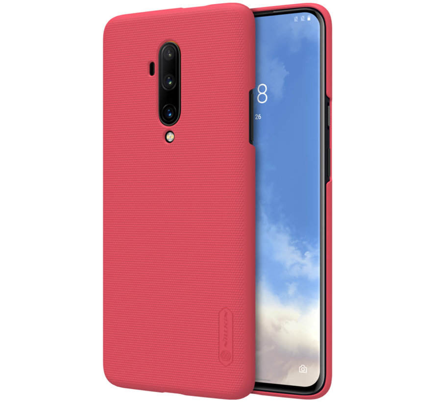 OnePlus 7T Pro Hoesje Super Frosted Shield Rood