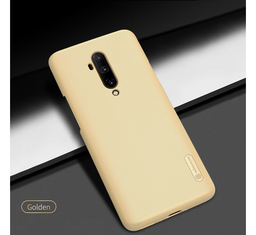 OnePlus 7T Pro Hoesje Super Frosted Shield Goud