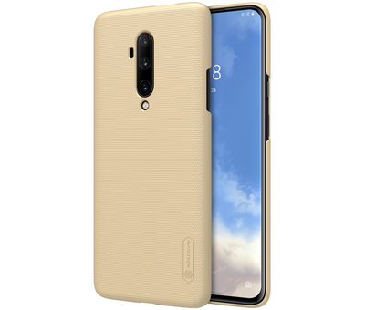 Nillkin OnePlus 7T Pro Hülle Super Frosted Shield Gold
