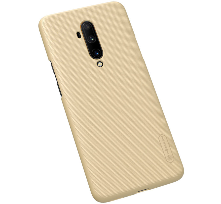 OnePlus 7T Pro Hülle Super Frosted Shield Gold