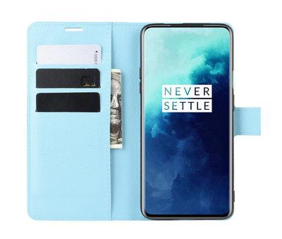 OPPRO OnePlus 7T Pro Wallet Flip Case Blau