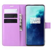 OPPRO OnePlus 7T Pro Wallet Flip Case Paars