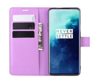 OPPRO OnePlus 7T Pro Wallet Flip Case Lila