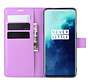 OnePlus 7T Pro Wallet Flip Case Lila