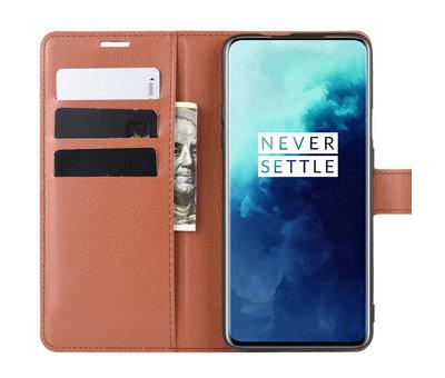 OPPRO OnePlus 7T Pro Wallet Flip Case Bruin