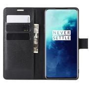 OPPRO OnePlus 7T Pro Wallet Flip Case Black