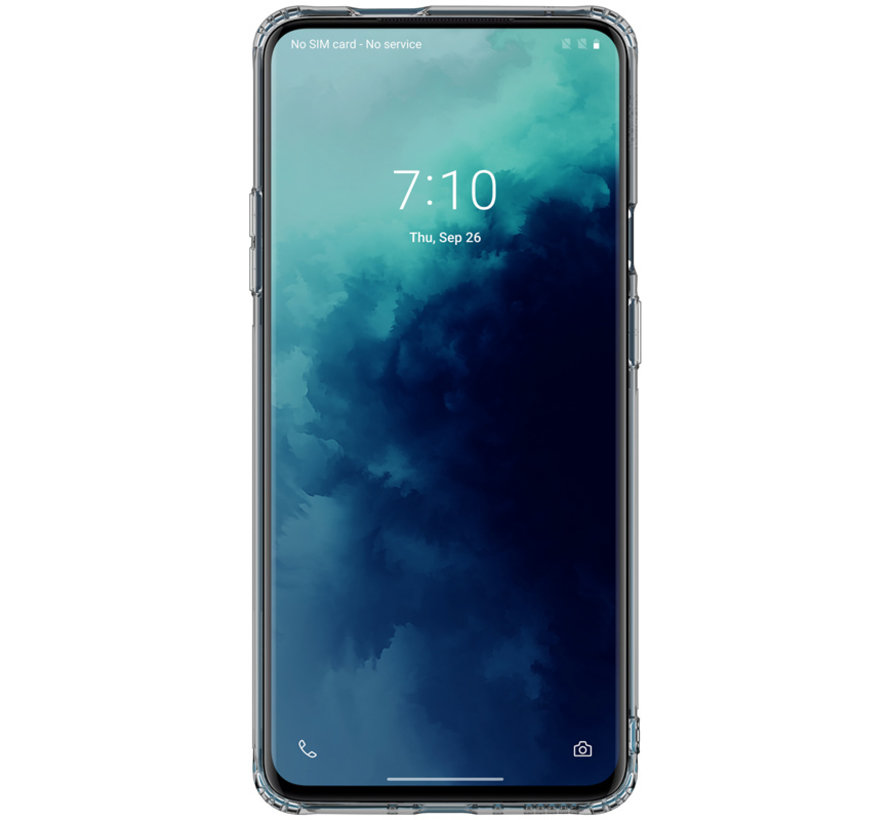 OnePlus 7T Pro Hülle TPU Nature Grau