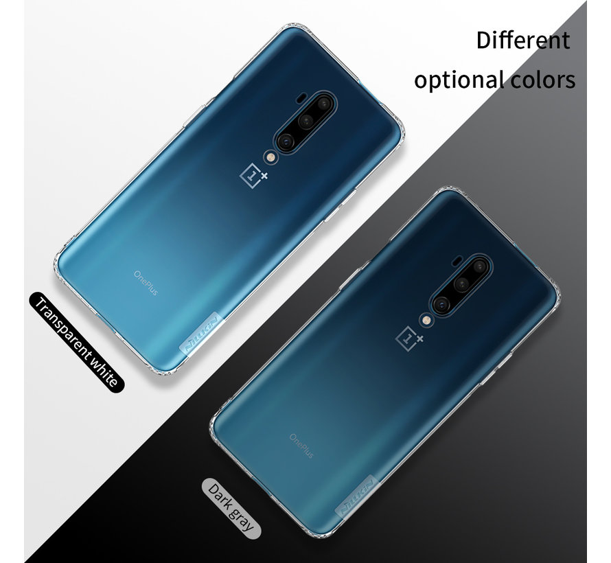 OnePlus 7T Pro Hoesje TPU Nature Wit