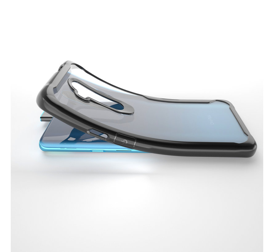 OnePlus 7T Pro Hoesje Hybrid Bumper Rood