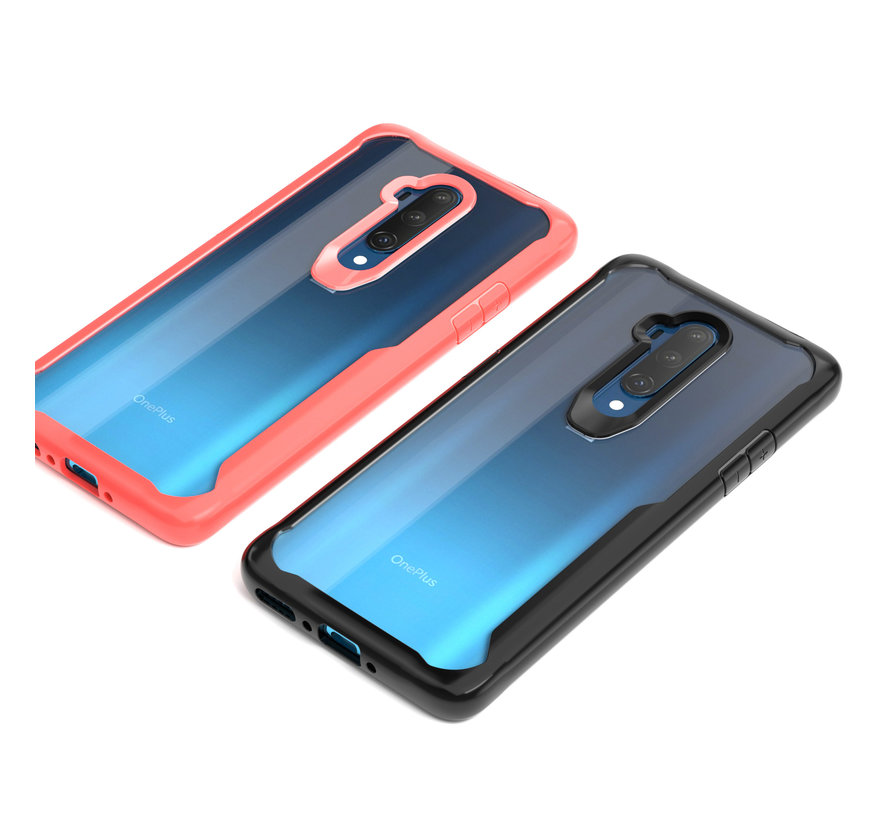 OnePlus 7T Pro Hybrid Bumper Case Red