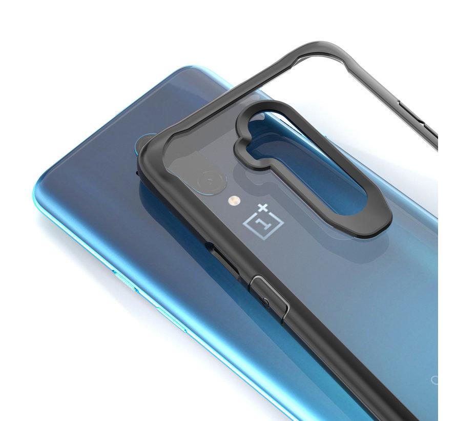 OnePlus 7T Pro Hybrid Bumper Case Rot