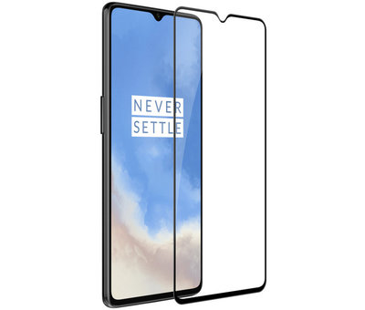 Nillkin OnePlus 7T Hoesje Super Frosted Shield Goud
